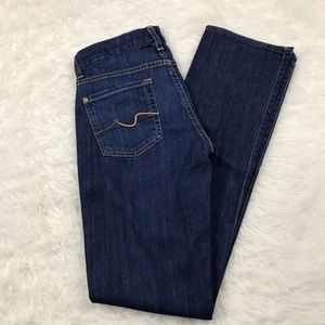 7 for all mankind Kimmie straight leg jeans sz 24